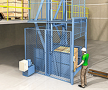 cleveland material elevator, freight lift parts