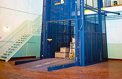 cleveland akron material handling lifts, freight elevators