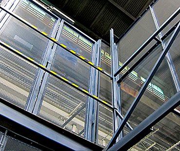 cleveland independence lift safety enclosures, facility gates