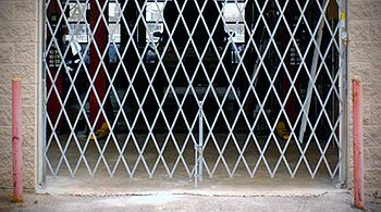 cleveland loading dock folding security gates