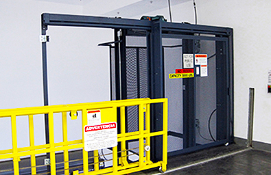 cleveland bedford freight elevator safety gate