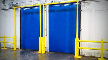 cleveland akron cold storage doors, industrial freezer doors