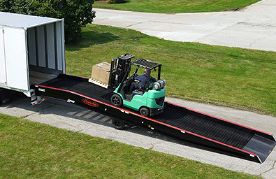 cleveland akron loading dock ramp, yard ramp